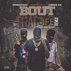 "Stunna 4 Vegas & Yungeen Ace Slide On Rubberband OG's ""Bout That Life (Remix)"""