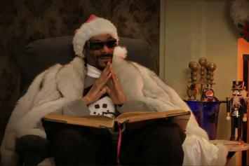 """Snoop Dogg """"A Christmas Story With Snoop"""" Video"""