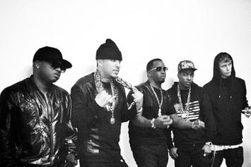 "BTS Photos: French Montana, Diddy, Los, Red Cafe & MGK, ""Ocho Cinco"""