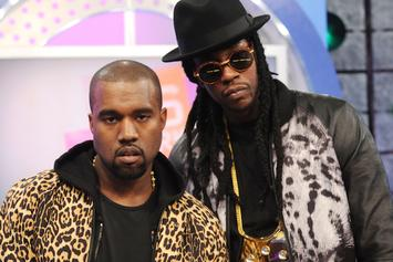 """Kanye West Personally Photoshopped 2 Chainz' """"B.O.A.T.S. II"""" Cover Art"""