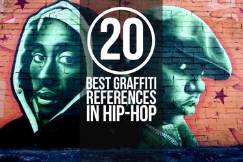 20 Of The Best Graffiti References In Hip-Hop