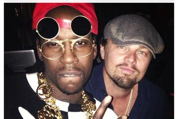 Kanye West & 2 Chainz Perform At Leonardo DiCaprio's Birthday Party