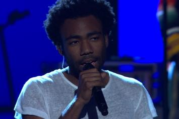 "Childish Gambino Performs ""Shadows"" Live On Arsenio Hall"