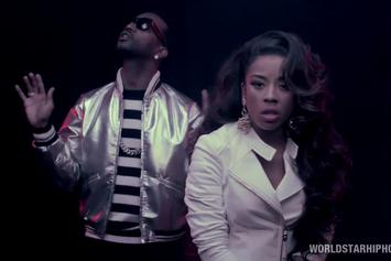 "Keyshia Cole Feat. Juicy J ""Rick James"" Video"