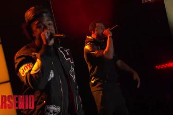 "Iamsu! & Sage The Gemini Perform ""Only That Real"" Live On Arsenio Hall"