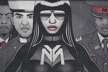 "Nicki Minaj Feat. Drake, Lil Wayne & Chris Brown ""Only"" Lyric Video"