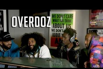 OverDoz. Interview & Freestyle on Hot 97