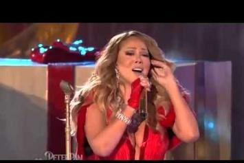 "Mariah Carey Performs ""All I Want For Christmas Is You"" In Rockefeller Center"