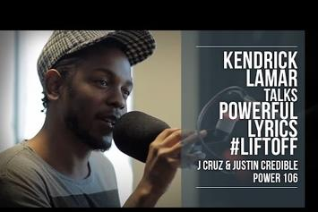 "Kendrick Lamar Talks ""i,"" Pharrell & Possible Collabo With Lil Wayne"