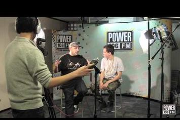 "Power 106's Vick One Tells Logic His Album Is ""Overrated"""