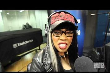 """Remy Ma Performs """"Go In Go Off"""" & """"Dying to Be Me"""" On Sway In The Morning"""