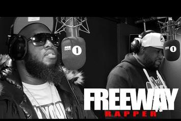 "Freeway & Tha Jacka ""Fire In The Booth"" Freestyle"