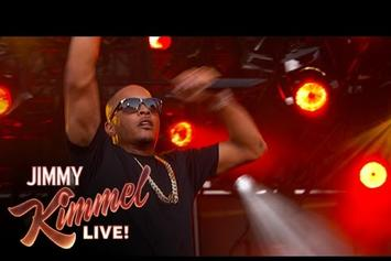 "T.I. ""About The Money (Jimmy Kimmel Live Performance)"" Video"