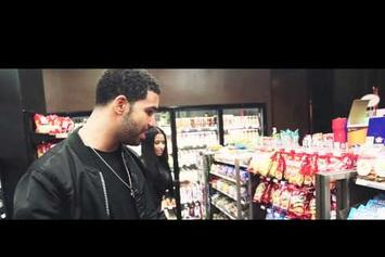 """Nicki Minaj And Drake On The Set Of Usher's """"She Came to Give It to You"""" Video"""
