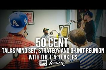 50 Cent Talks G-Unit Reunion At Summer Jam