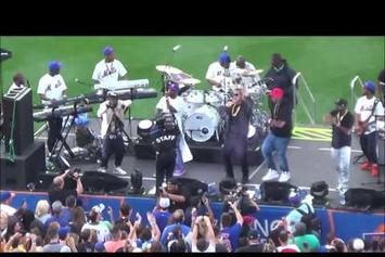 """G-Unit Performs """"Real Quick"""" Live at Citi Field"""