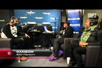 Ransom Freestyles On Sway In The Morning