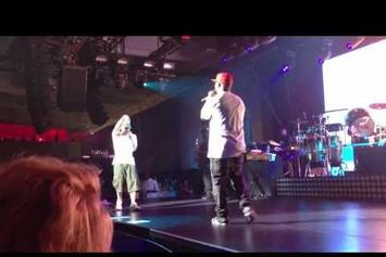 "Eminem Feat. Royce Da 5'9"" ""Perform ""Lighters"" At G-SHOCK Event"" Video"