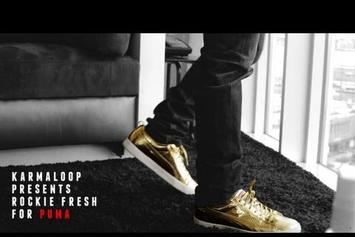 """Rockie Fresh """"Talks His Come-Up For Puma"""" Video"""