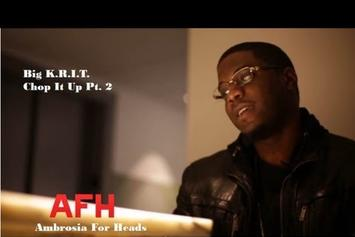 """Big K.R.I.T. """"Reflects On """"King Remembered In Time"""" (Part 2)"""" Video"""