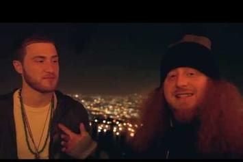 "Rittz Feat. Mike Posner ""BTS Of ""Switch Lanes"""" Video"