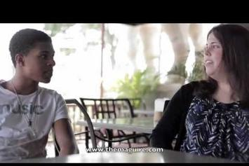 """Diggy Simmons """"Interview with Jessie Maguire"""" Video"""
