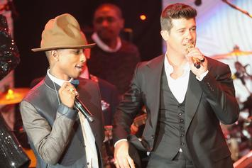 """Robin Thicke & Pharrell Lose """"Blurred Lines"""" Suit; Must Pay $7 Million"""