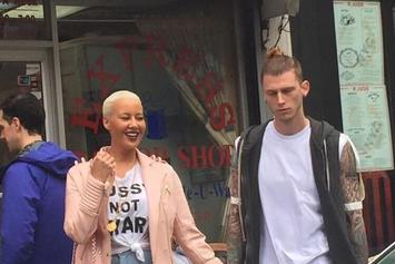 Is Amber Rose Dating Machine Gun Kelly?