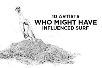 """10 Artists Who Might Have Influenced """"Surf"""""""