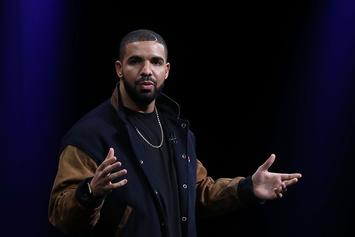 Drake & The Weeknd Appear Onstage At Apple Music Launch Event