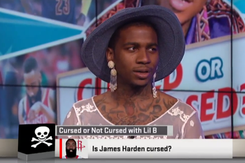 "Lil B Talks About NBA Curses On ESPN's ""Sports Nation"""