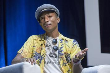 """Pharrell Previews New Song, """"Freedom,"""" Ahead Of Apple Music Debut"""