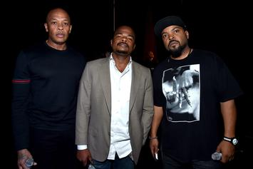 "Ice Cube Says The ""Straight Outta Compton"" Soundtrack Is Dropping This Week"