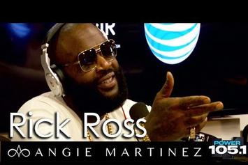 Rick Ross Talks To Angie Martinez About Rap Beef