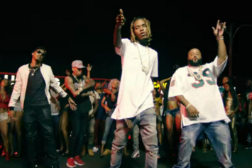 "DJ Khaled Feat. Chris Brown, Fetty Wap, August Alsina ""Gold Slugs"" Video"