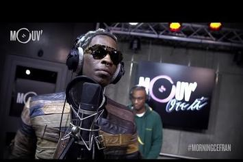 Young Thug Spits Live Freestyle On French Morning Show