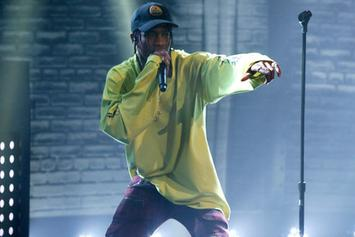 "Travi$ Scott Performs ""Antidote/Pray For Love"" On Late Night With Seth Myers"