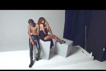 BTS: Rihanna & Travi$ Scott's Puma Creeper Photoshoot
