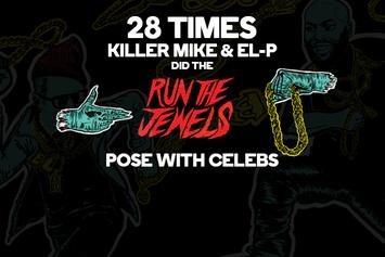 28 Times Killer Mike & El-P Did The Run The Jewels Pose With Celebs