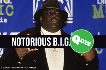 Quiz: The Notorious B.I.G.