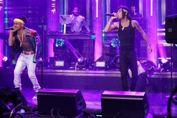 "Rae Sremmurd Perform ""Look Alive"" On Jimmy Fallon"