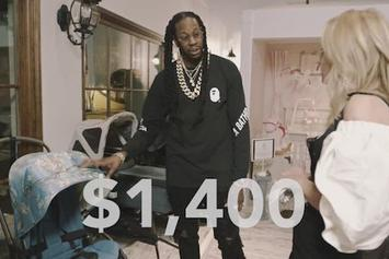 2 Chainz Checks Out The Most Expensivest Baby Products For GQ