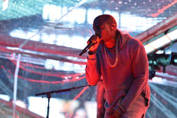 """Live Stream Kanye West's """"Famous"""" Visual Premiere Event In LA"""