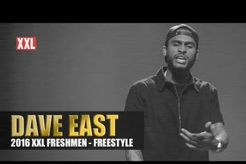 Dave East's XXL Freshman Freestyle