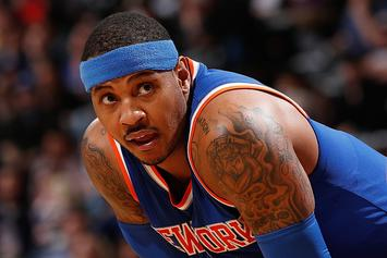 Carmelo Anthony Challenges Athletes To Step Up And Take Charge In Light Of Recent Killings