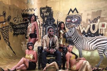 "Usher, Young Thug & Gucci Mane Shoot Video For ""No Limit"""