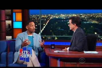 Will Smith On Stephen Colbert