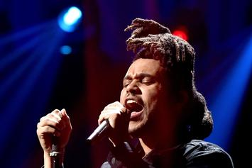 The Weeknd Previews Awesome-Sounding New Song