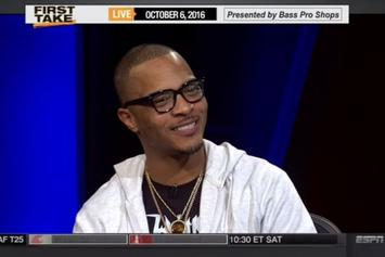 """T.I. On ESPN's """"First Take"""""""