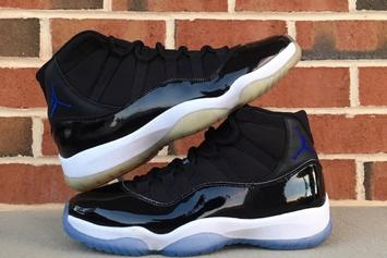 "Comparing 2009 ""Space Jam"" Air Jordan 11 vs. 2016 ""Space Jam"" Air Jordan 11"